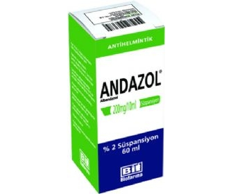 ANDAZOL %2 60 ML SÜSPANSİYON