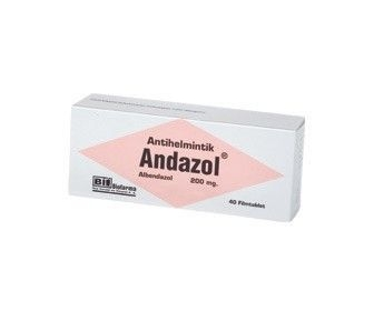 ANDAZOL 200 MG 40 FİLM TABLET