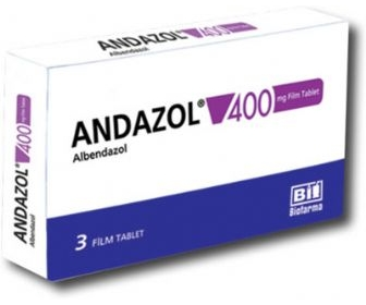 ANDAZOL 400 MG 3 FİLM TABLET