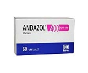 ANDAZOL 400 MG 60 FİLM TABLET