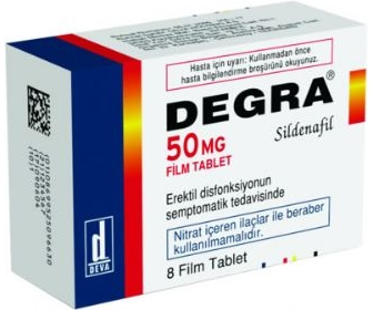 DEGRA 50 MG 1 FİLM TABLET