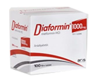 DİAFORMİN 1000 MG 100 FİLM TABLET
