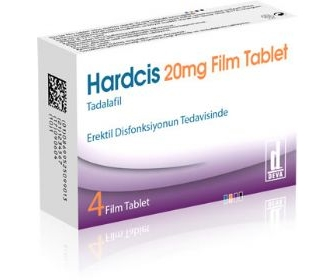 HARDCİS 20 MG 4 FİLM TABLET